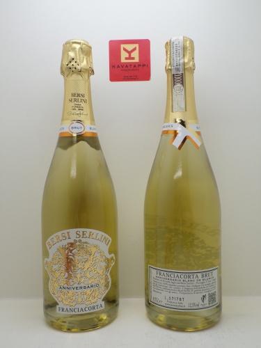 BERSI SERLINI *ANNIVERSARIO BLANC DE BLANCS* franciacorta docg brut chardonnay