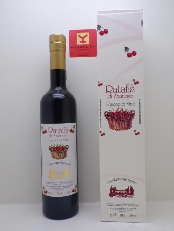 PERSOLINO *RATAFIA DI AMARENE* liquore di vino 25°