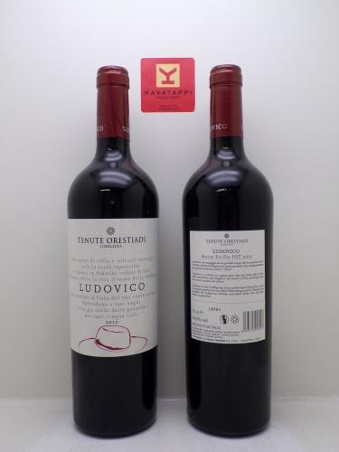 TENUTE ORESTIADI *LUDOVICO* rosso sicilia igp nero d´avola e cabernet sauvignon