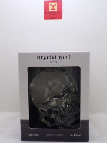 CRYSTAL HEAD *VODKA* 40° (decanter a teschio astucciato)