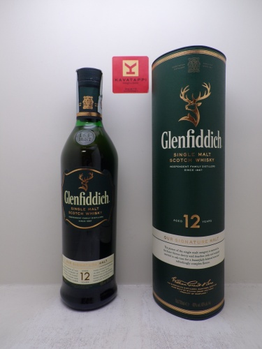 GLENFIDDICH *WHISKY SINGLE MALT* valley of the deer 40° (astucciato)