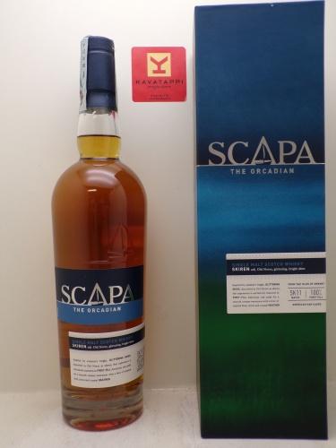 SCAPA *WHISKY SCAPA* single malt islands of orkney 40° (astucciato)