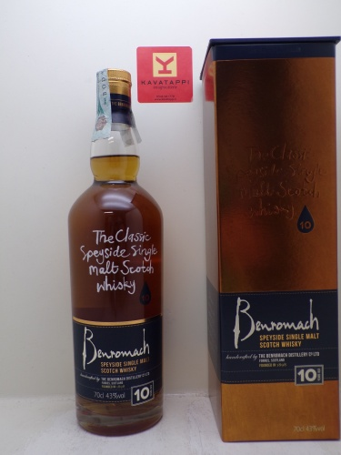 BENROMACH *WHISKY* speyside single malt scotch whisky 43° (astucciato)