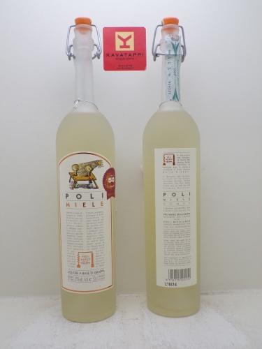 POLI *MIELE* a base di grappa e miele 35°