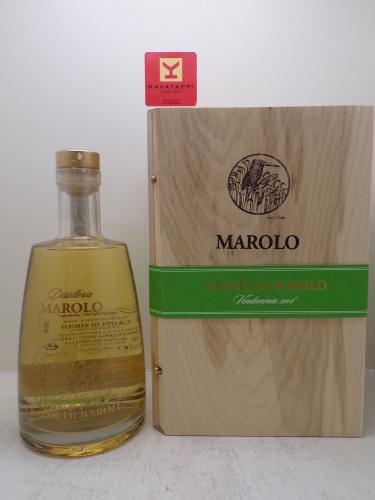 MAROLO *GRAPPA DI BAROLO I MIGLIORI ANNI* barricata 42° (decanter cofanetto legno)