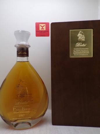 DISTILLERIE BERTA *GRAPPA PAOLO BERTA* 43° (decanter in cassa legno)