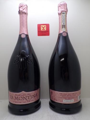LA MONTINA *MAGNUM ROSE DEMI SEC* franciacorta docg