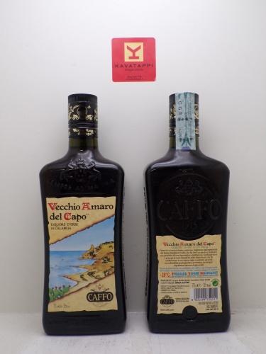 CAFFO *VECCHIO AMARO DEL CAPO* liquore di erbe di calabria 35°