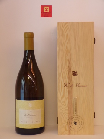 VIE DI ROMANS *JEROBOAM VIE DI ROMANS* friuli isonzo doc rive alte chardonnay (cassa legno)