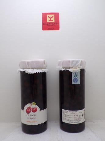 MARZADRO *CILIEGIE IN LIQUORE* 15° vaso da 620 Gr.