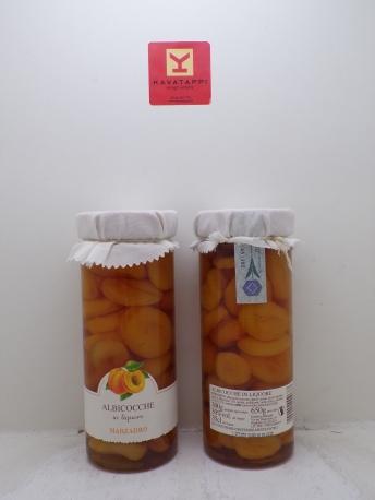 MARZADRO *ALBICOCCHE IN LIQUORE* 30° vaso da 650 Gr.