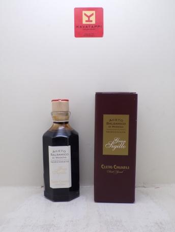 CLETO CHIARLI *ACETO GRAN SIGILLO* aceto balsamico di modena igp lungamente invecchiato