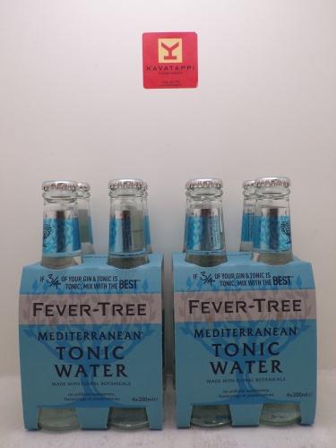 FEVER TREE *TONIC WATER* cluster 4 bott. da cl 20