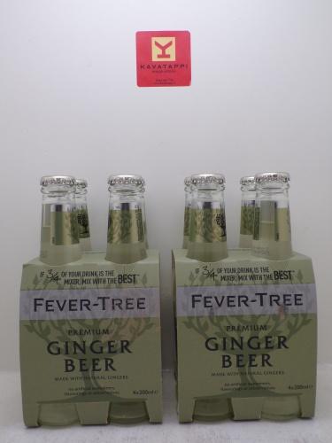 FEVER TREE *GINGER BEER* cluster 4 bott. da cl 20