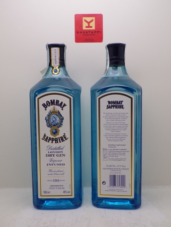 *GIN BOMBAY SAPPHIRE* london dry gin 47°