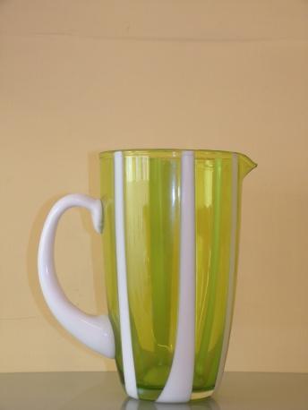 ZAFFERANO *CARAFFA GESSATO* colore mela verde cl 160