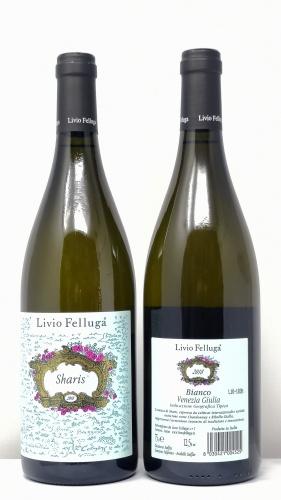 LIVIO FELLUGA *SHARIS* bianco venezia giulia igt chardonnay e ribolla gialla