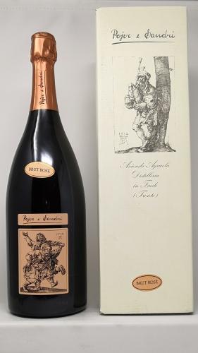 POJER E SANDRI *MAGNUM ROSE* vino spumante di qualita brut rose