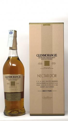 GLENMORANGIE *WHISKY NECTAR D´OR* highland single malt sauternes cask finish 46° (cofanetto)