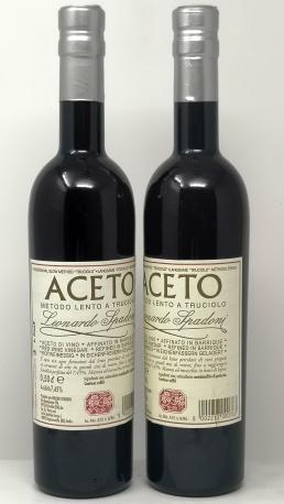 LEONARDO SPADONI *ACETO* aceto di vino rosso metodo lento a truciolo