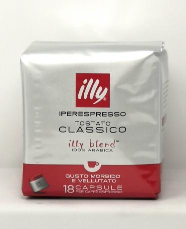 ILLY *CAFFE CLASSICO IPERESPRESSO* sacchetto da 18 capsule tostatura classico