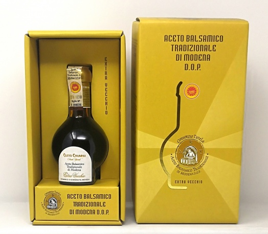 CHIARLI *ACETO EXTRA VECCHIO* aceto balsamico tradizionale di modena dop