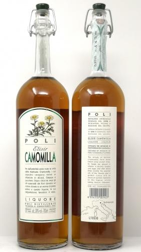 POLI *ELISIR CAMOMILLA* liquore alla camomilla 30°