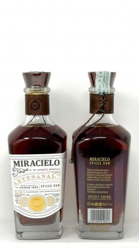 BOTRAN *RUM MIRACIELO* 38° spiced rum
