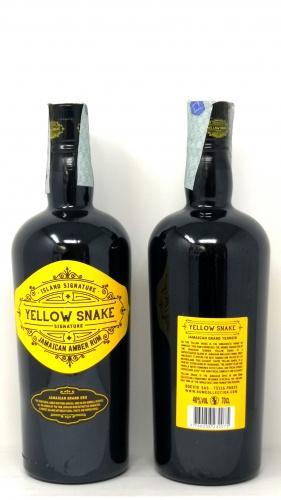 YELLOW SNAKE *RUM* jamaican amber rum 40°