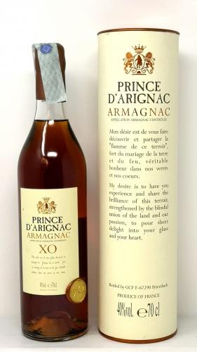 PRINCE D ARIGNAC *ARMAGNAC XO* armagnac aoc 40° (astucciato)