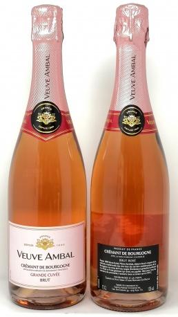VEUVE AMBAL *CREMANT DE BOURGOGNE GRANDE CUVEE  ROSE* cremant de bourgogne rosè