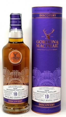GORDON e MACPHAIL *WHISKY MILTONDUFF* single malt scotch whisky sherry cask matured 43° (astucciato)
