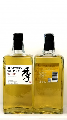 SUNTORY *WHISKY TOKI* blended japanese whisky 43°