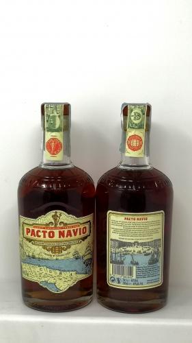 HAVANA CLUB *RUM PACTO NAVIO* affinato in botti da sauternes 40°